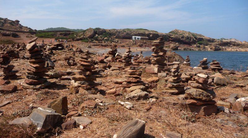 Montoncitos de piedras