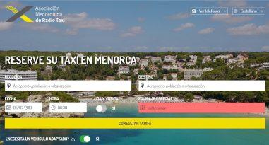 Web Radio Taxi Menorca