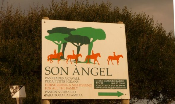 Entrada finca son angel