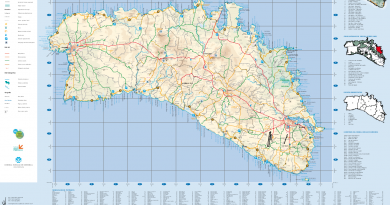 Maps of Menorca