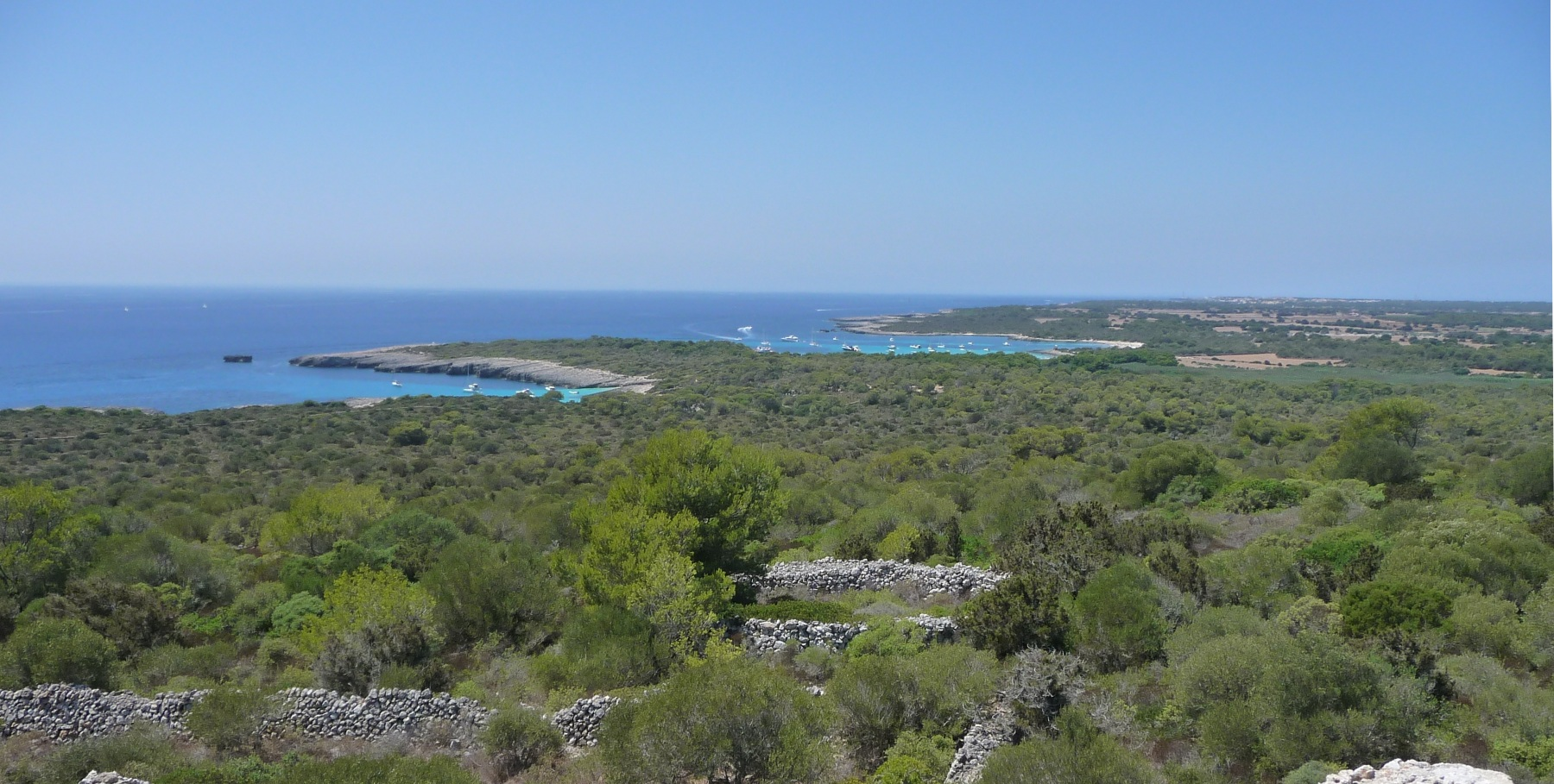 playas virgenes costa sur menorca