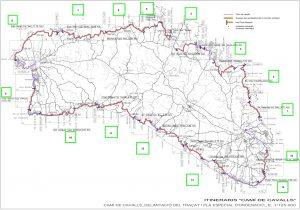 Tramos del Camí de Cavalls (Consell Insultar de Menorca)
