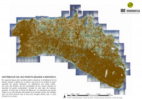Mapa de Paret Seca en Menorca - IDE