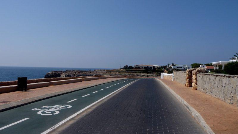 sa farola road towards calan blanes