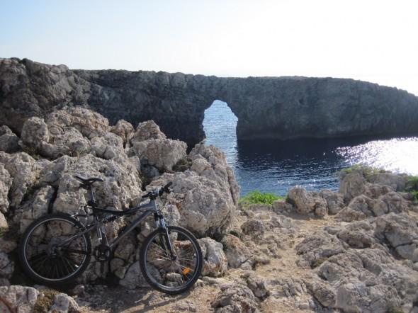 Pont den Gil Bridge - by bike