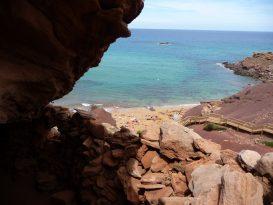 Vistas desde la Cueva de Cala Pilar