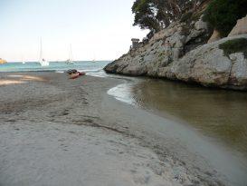 Río de Cala Trebalúger