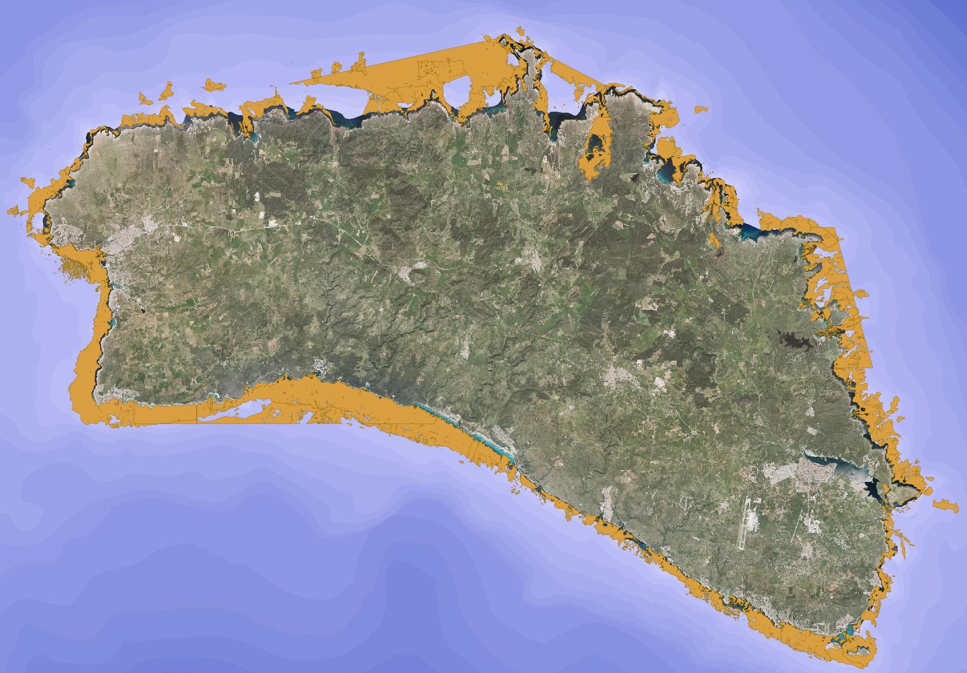 Zonas de fondeo prohibido de embarcaciones en Menorca