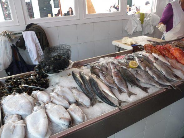 Pescado Fresco del Mercat des Peix