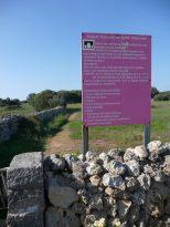 Cartel informativo de los puntos de interés cultural de Torretrencada