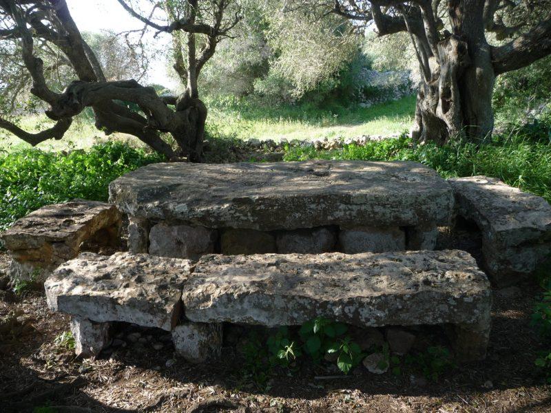 Reusing stones from Torretrencada village 2