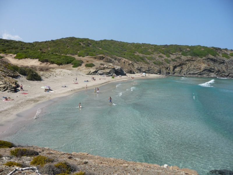 Cala Presili (also known as Capifort)