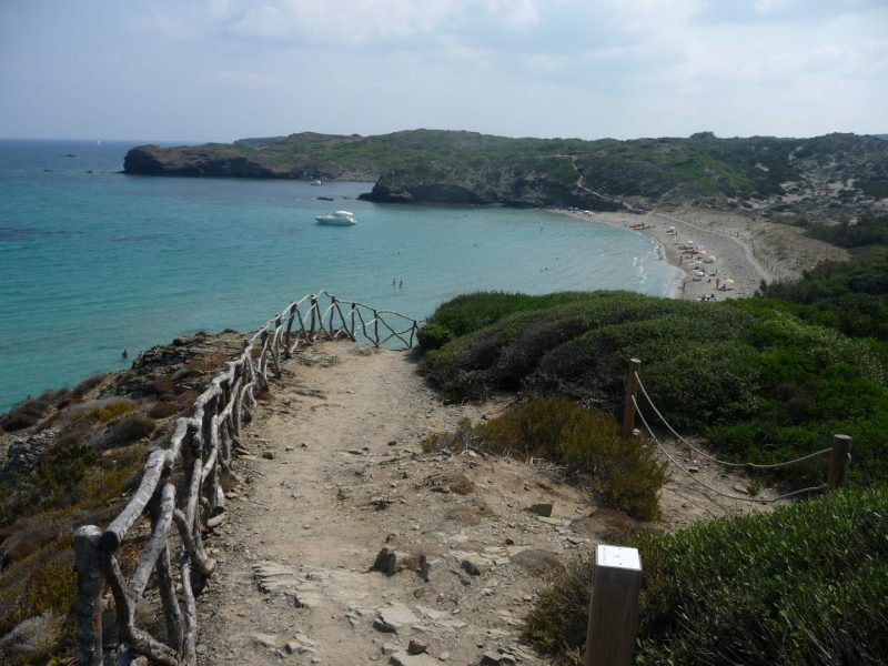 Last meters of Camí de Cavalls before reaching Cala Tortuga