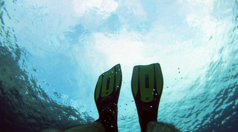 Snorkel en Cala en Blanes