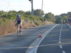 Triathlon cala en blanes 2012