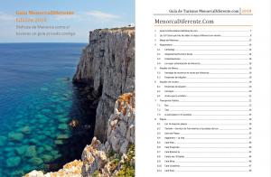 2018 - Portada Guia MenorcaDiferente en PDF