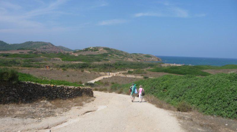 Camino hacia Binimel·là - P1120155