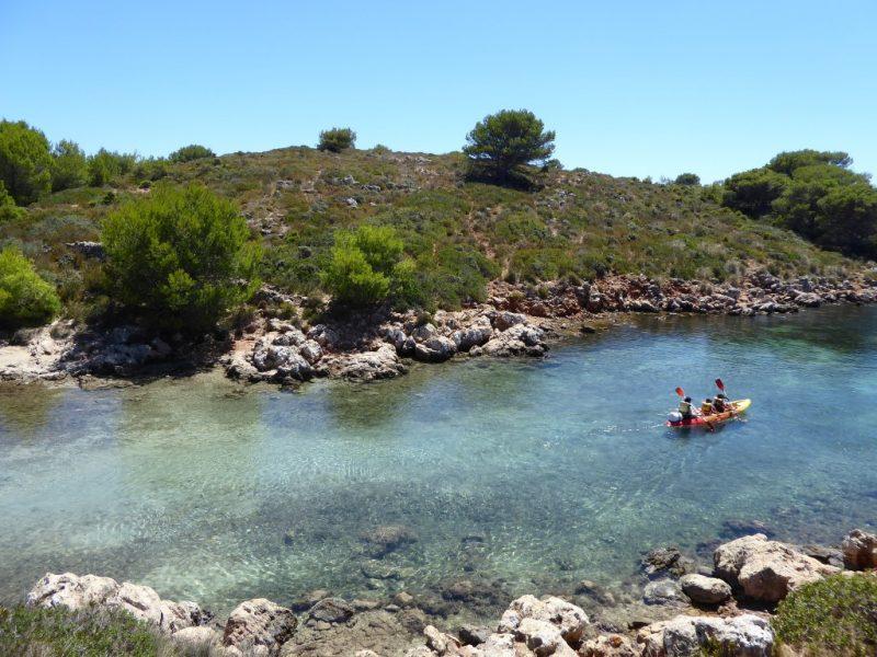 Kayak en Cabra Salada