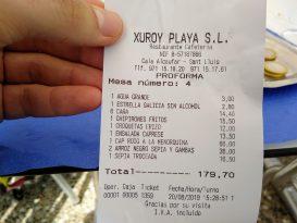 Cuenta Hotel Xuroy
