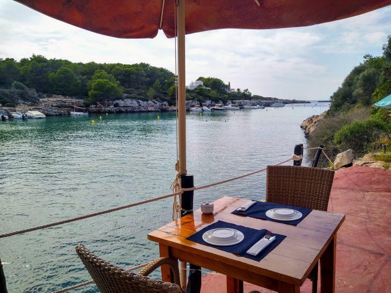 Restaurante Sa Nacra en Santadria