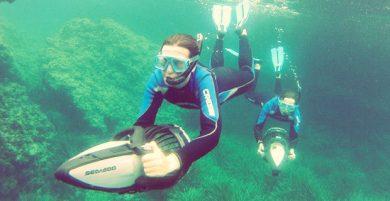 Snorkel con Seascooter