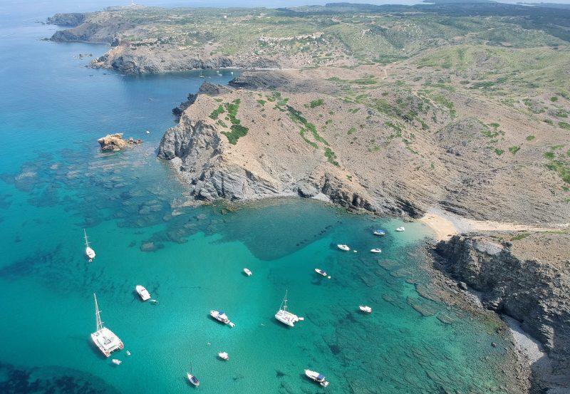 Catamaran y Lanchas en Arenalet de s'Enclusa