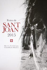 Cartel de las Fiestas de Sant Joan 2015