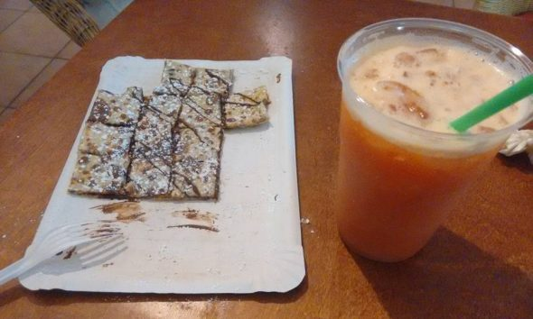 Crepe de Chocolate y Batido Jimmy Hills