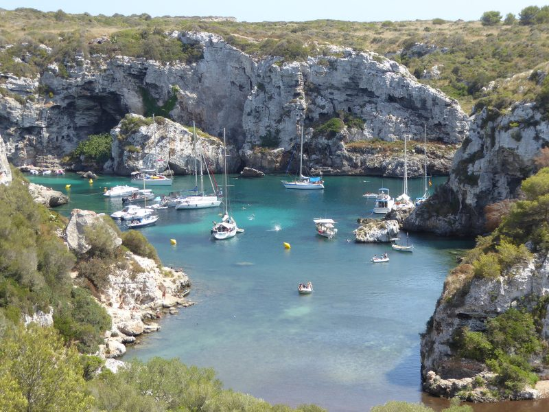 Cales Coves in Summer