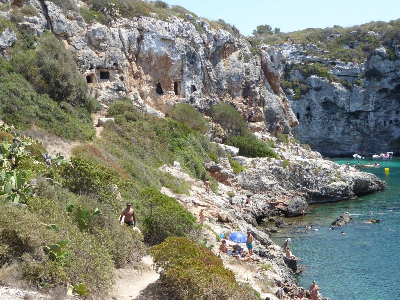 Cuevas en el Lateral de Cales Coves - P1000410