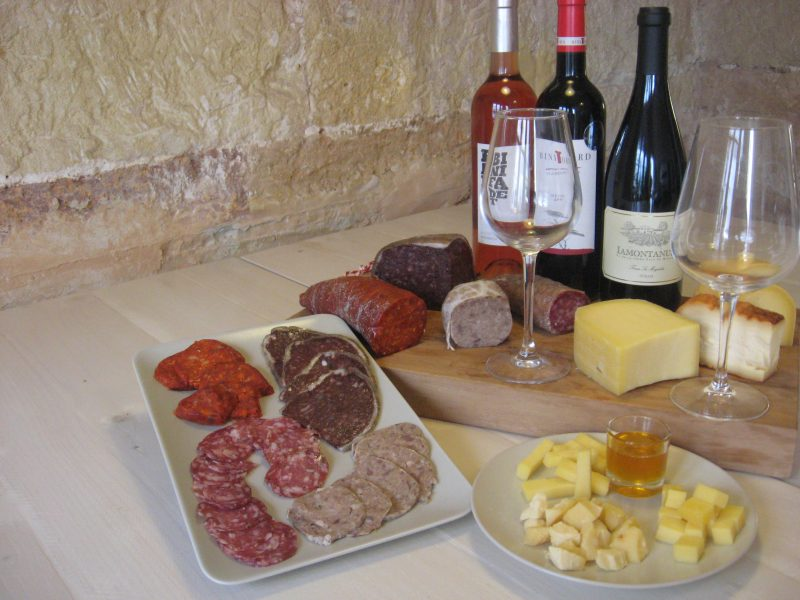 Cuk-Cuk - Wine cheese and sausage tasting