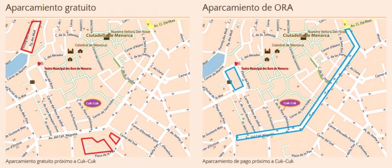 Cuk-Cuk - Nearby Parking Areas