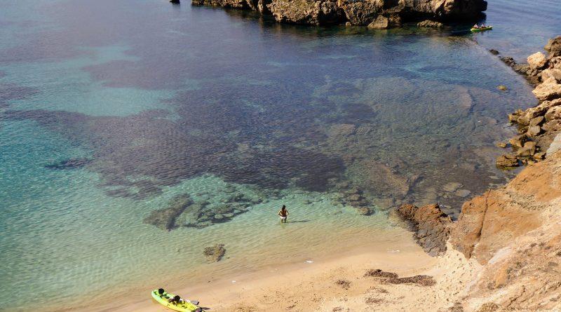 Kayak en Illa den Colom - Arenal d'en Moro