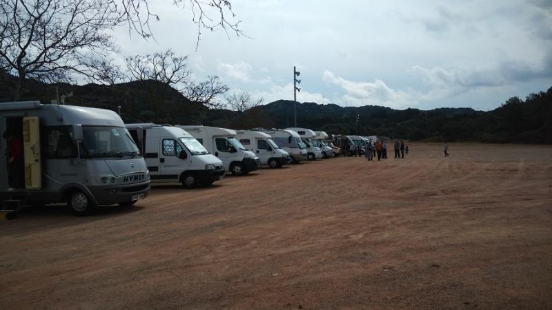 Area de Servicio para Autocaravanas de Es Mercadal
