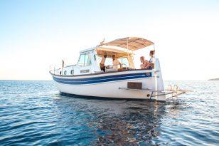 Atardecer en Menorquina Charter