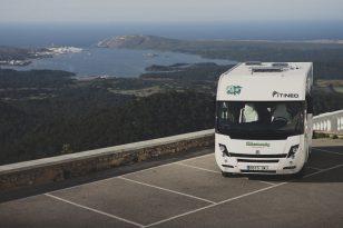 Caravana en Monte Toro