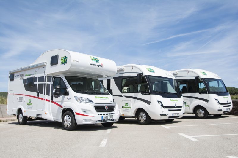 Caravanas de Autocaravaning Menorca