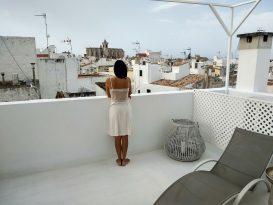 Terraza de la suite del Hotel Ca s'Arader