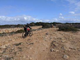 Bici por el camí de cavalls tramo 12 artrutx a turqueta