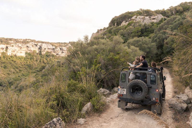 Caminos estrechos con Jeep Safari