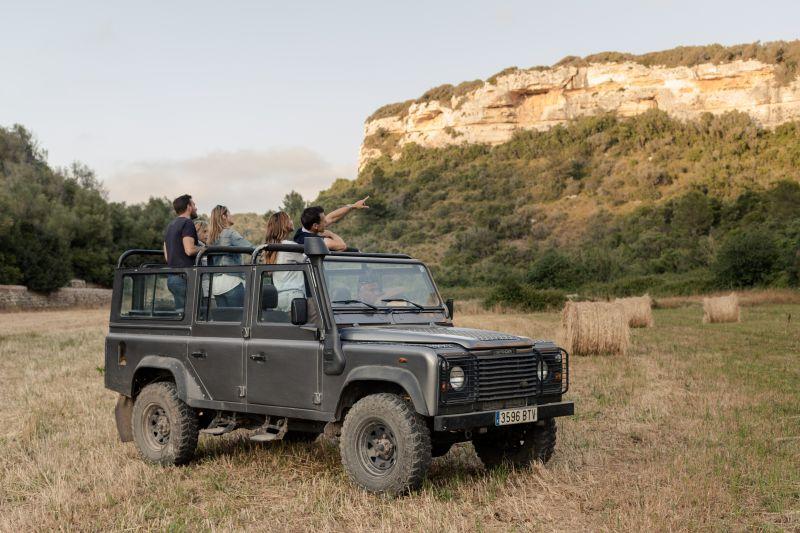 Jeep Safari Menorca Desconocida